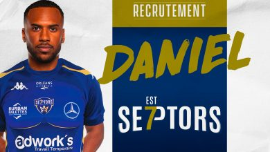 Photo de Daniel Mosindi sera Septors la saison prochaine !