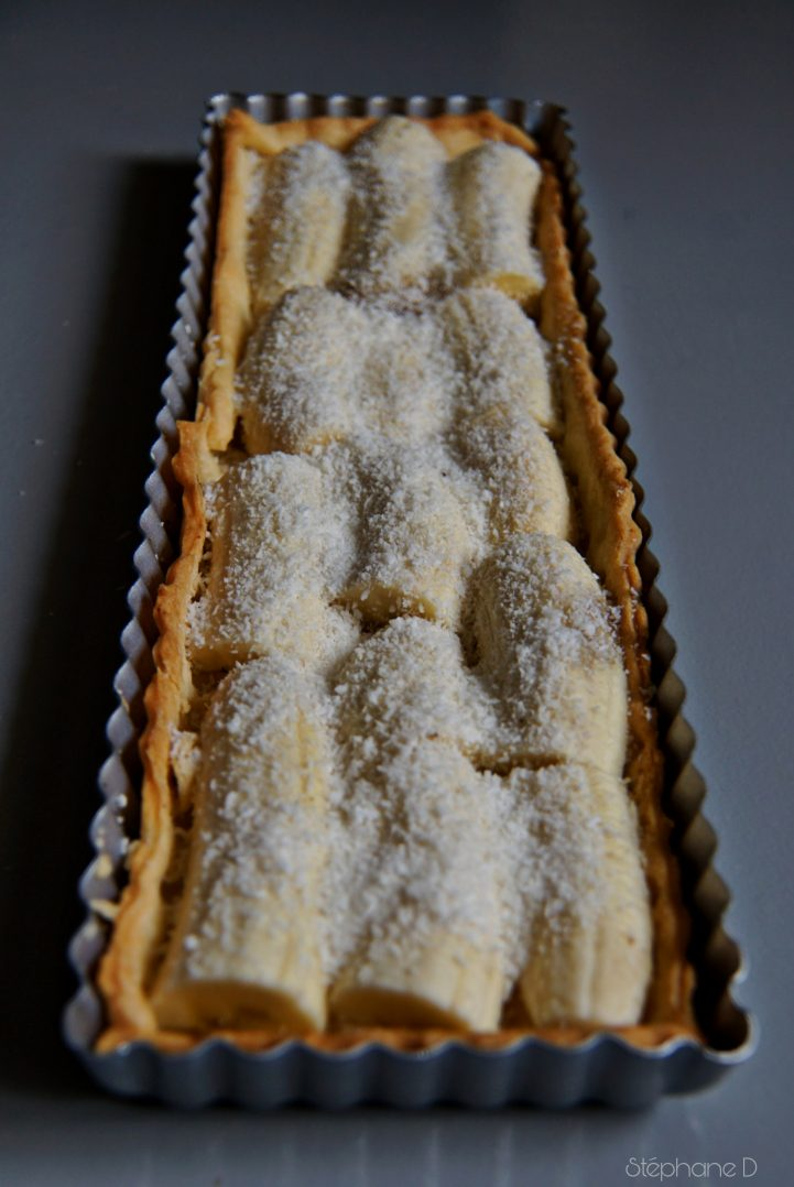 TARTE CHOCOLAT BANANES COCO 3