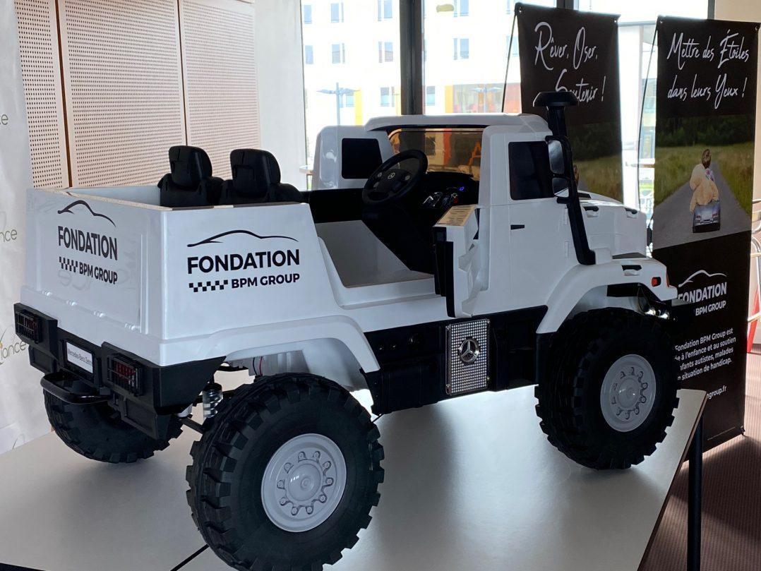 Remise d'un camion électrique au Pôle Santé d'Oréliance 5