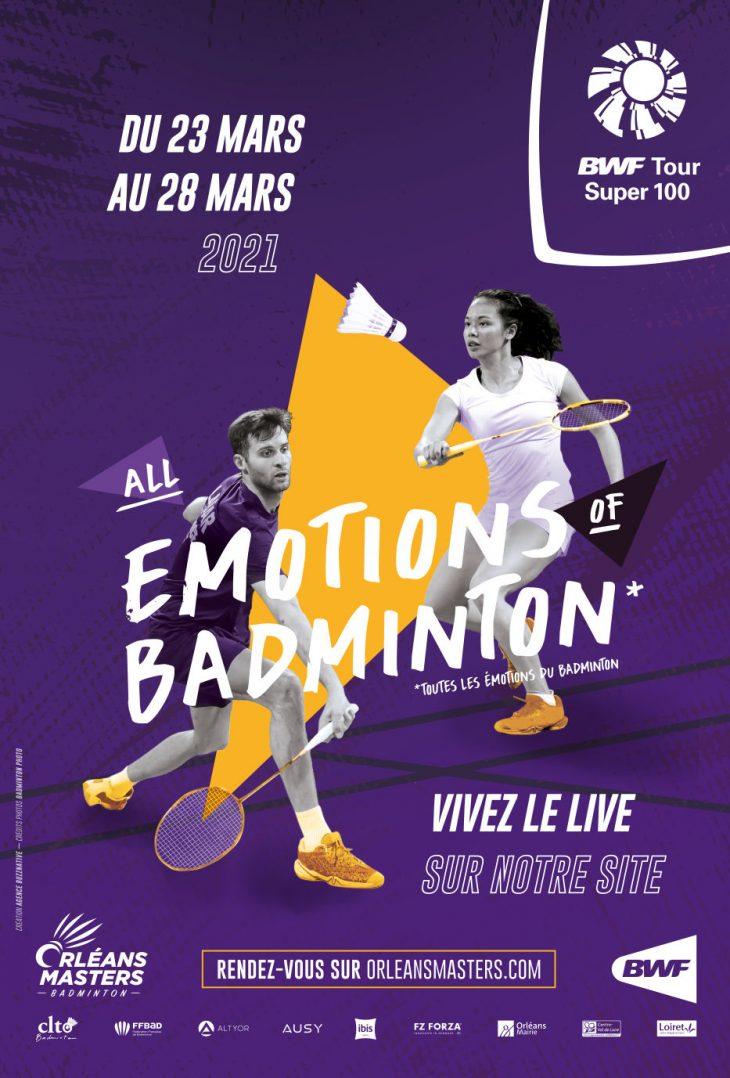 Du beau monde attendu à l'Orléans Masters Badminton 2