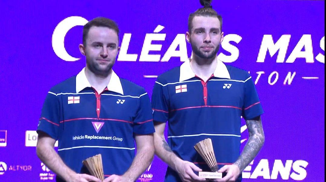 Tomy Popov offre à la France son premier simple messieurs à l'Orléans Master de badminton. 4