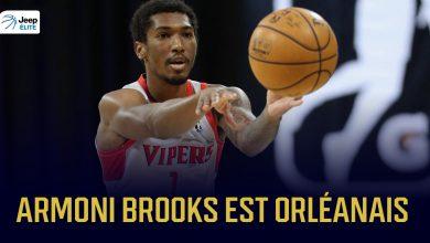 Armoni Brooks arrive à l'Orléans Loiret Basket 5