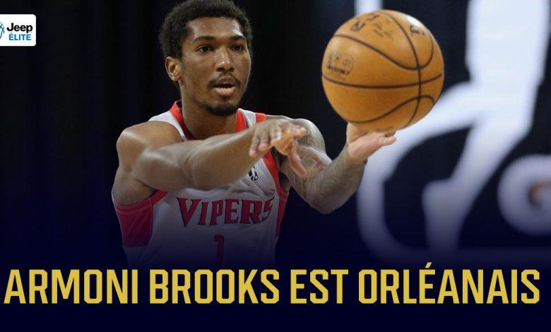 Armoni Brooks arrive à l'Orléans Loiret Basket 1