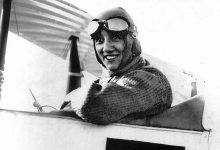 Mise à l'honneur d'Adrienne Bolland, aviatrice Loirétaine 5