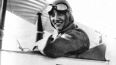 Mise à l'honneur d'Adrienne Bolland, aviatrice Loirétaine 22