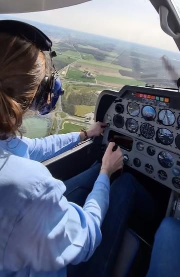 Rencontre avec Léna Guibert, pilote de ligne à en devenir 3