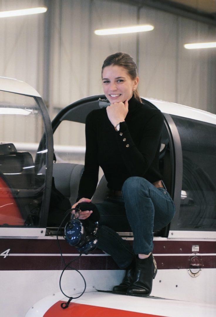Rencontre avec Léna Guibert, pilote de ligne à en devenir 1