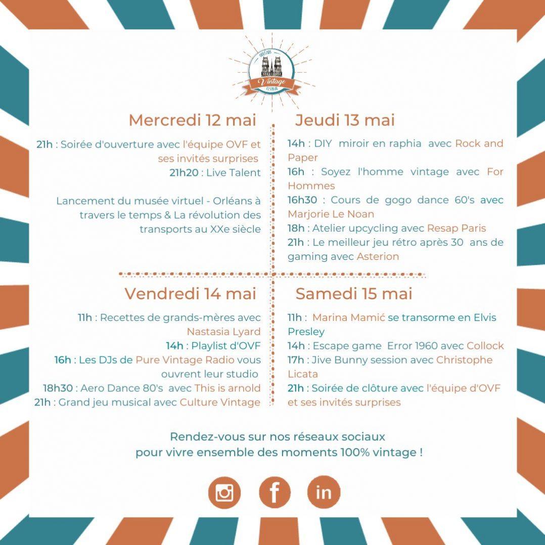 Orléans Vintage Festival revient du 12 au 15 mai ! 2