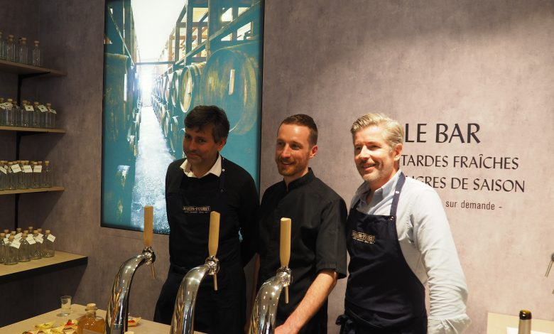 Rue Jeanne d'Arc, la boutique Martin Pouret inaugure son nouveau bar à moutardes et vinaigres 1