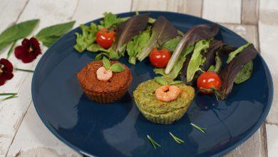 Moelleux courgettes tomates basilic crevettes et coeur fondant au fromage 15