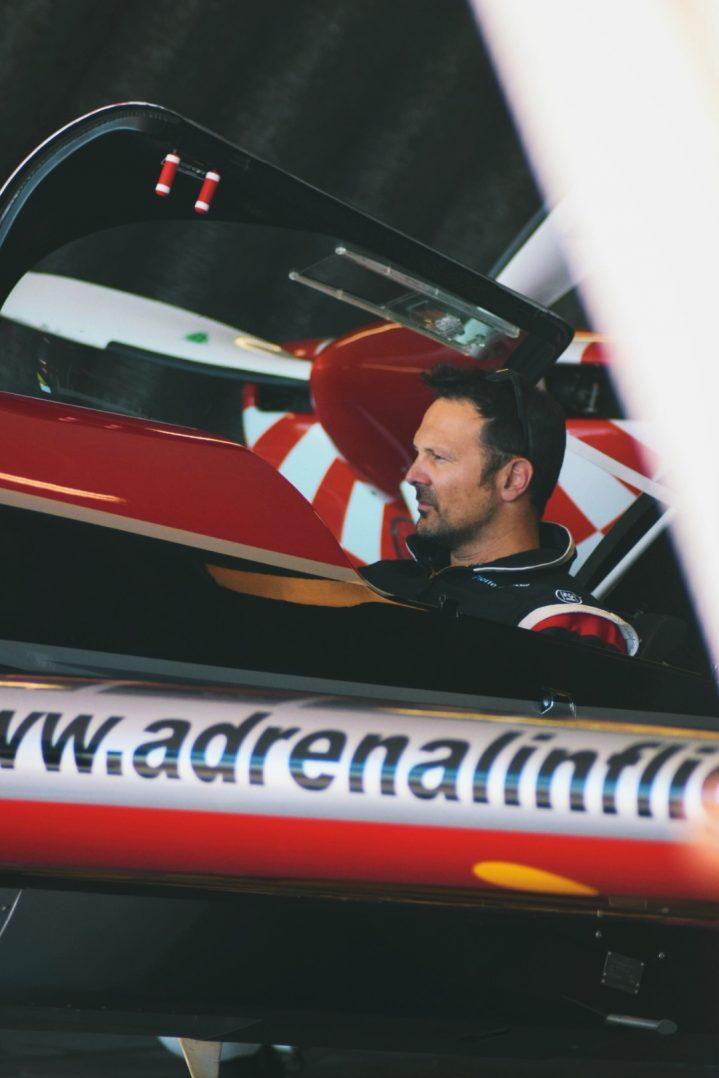 Interview de Pierre Zamora, pilote de voltige. 5