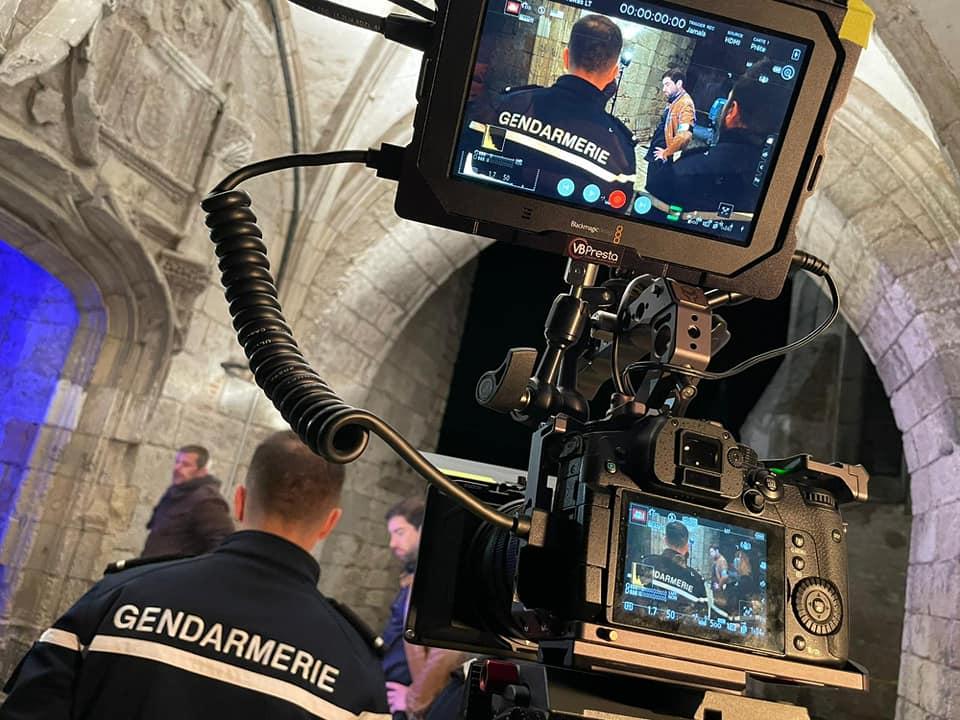 """Sur le tournage de """"la malédiction des Dunois"""" 2"""