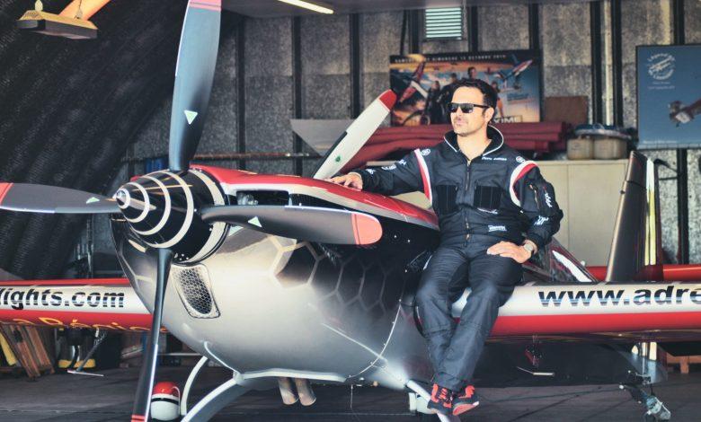 Interview de Pierre Zamora, pilote de voltige. 1