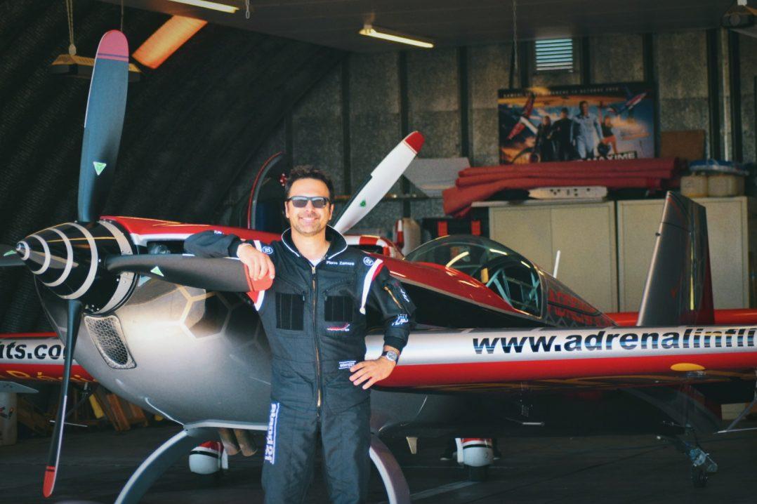 Interview de Pierre Zamora, pilote de voltige. 3