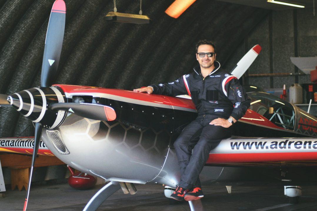 Interview de Pierre Zamora, pilote de voltige. 7