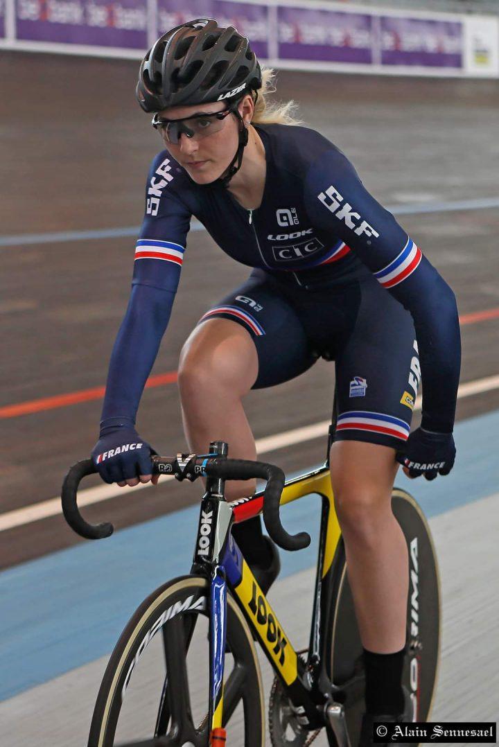 Marion Borras en piste pour Tokyo 6