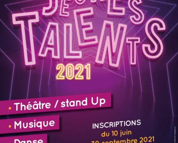 Les inscriptions pour le concours Jeunes Talents 2021 sont ouvertes ! 1