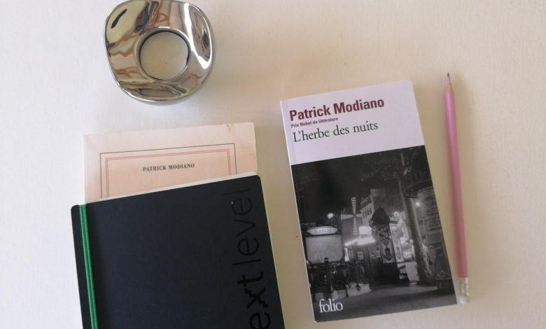 """""""L'herbe des nuits"""" de Patrick Modiano, une balade Parisienne 1"""