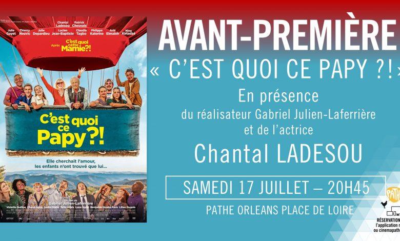 Chantal Ladesou de passage à Orléans pour présenter « C'est quoi ce Papy ?! » 1