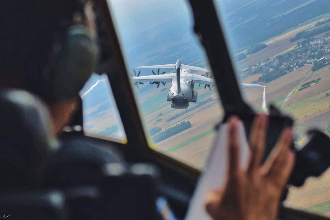 A bord du C-130J pour le défilé du 14 juillet. 7
