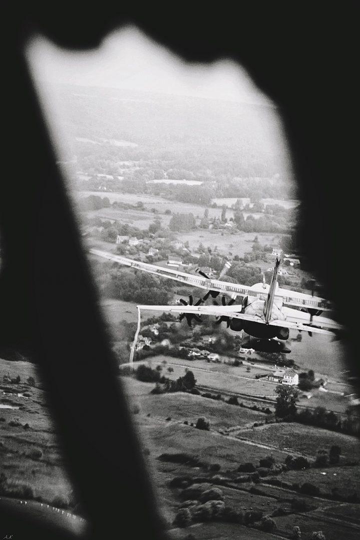 A bord du C-130J pour le défilé du 14 juillet. 16