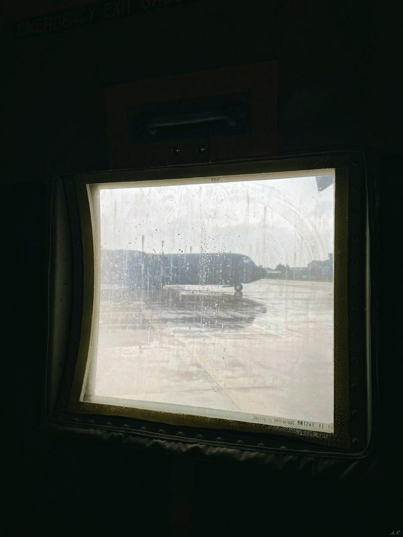 A bord du C-130J pour le défilé du 14 juillet. 3
