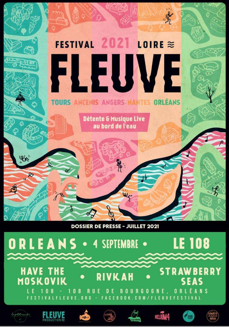 """Le festival """"Fleuve"""" de nouveau présent en septembre 2"""