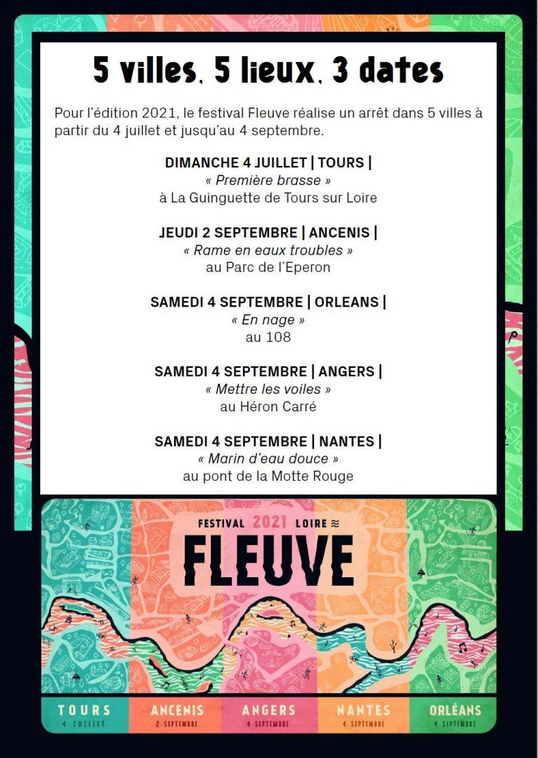 """Le festival """"Fleuve"""" de nouveau présent en septembre 3"""