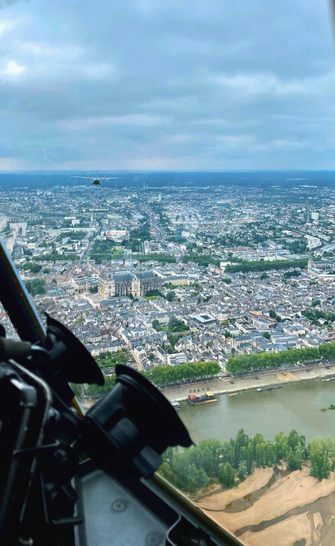 A bord du C-130J pour le défilé du 14 juillet. 14