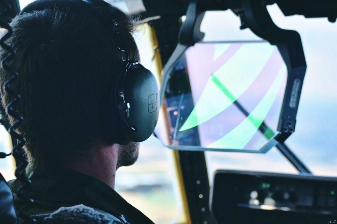 A bord du C-130J pour le défilé du 14 juillet. 6