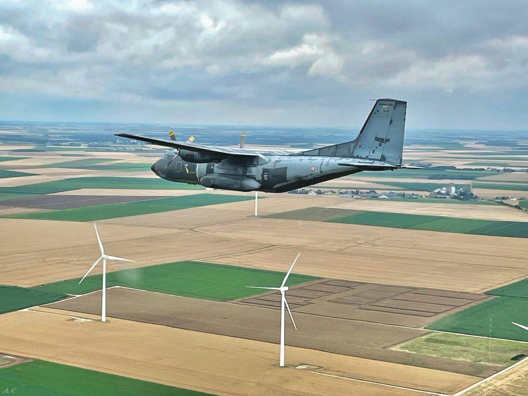 A bord du C-130J pour le défilé du 14 juillet. 9