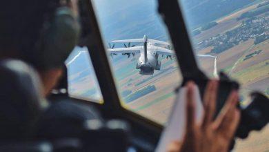 A bord du C-130J pour le défilé du 14 juillet. 27