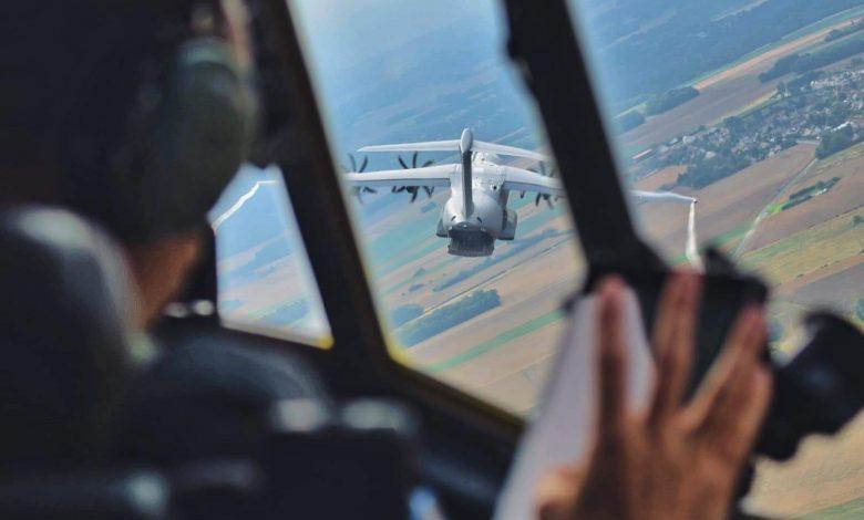 A bord du C-130J pour le défilé du 14 juillet. 1