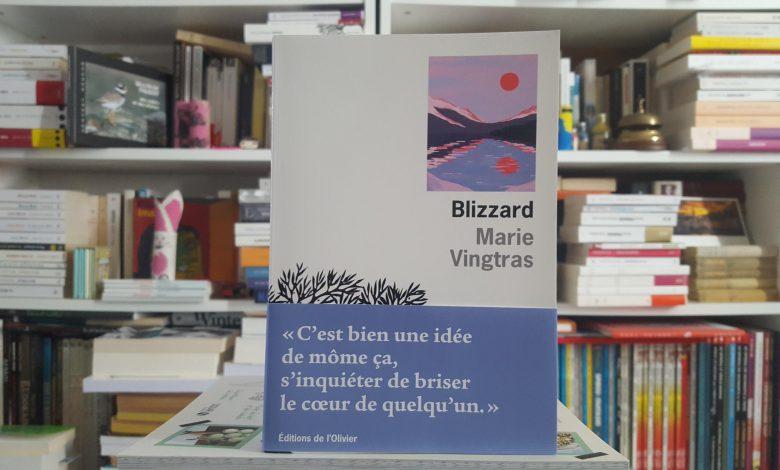 Blizzard de Marie Vingtras, un premier roman au plus près des douleurs 1