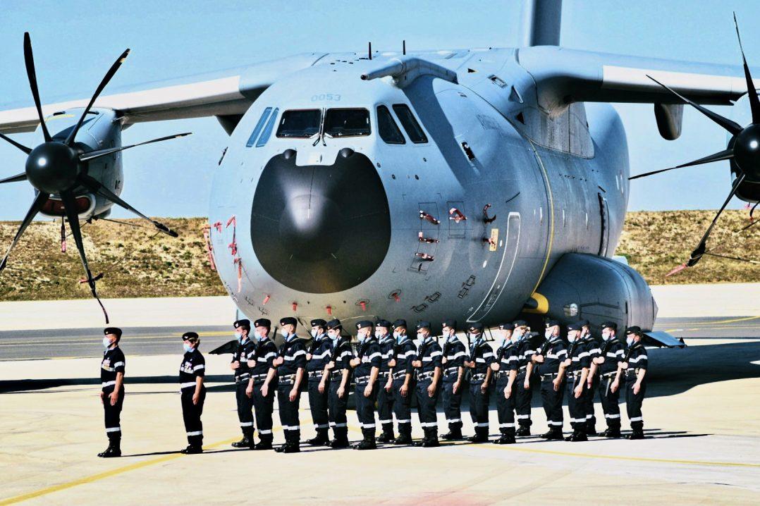 Le Colonel Guillaume Vernet est le nouveau commandant de la base aérienne 123 d'Orléans-Bricy 13