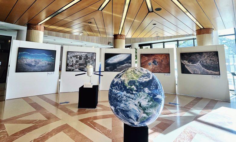 EXPOSITION : LA TERRE DEPUIS L'ESPACE PAR THOMAS PESQUET 1