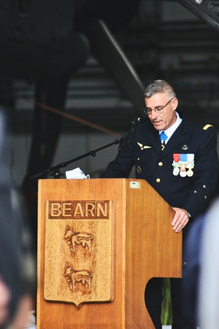 La base aérienne 123 d'Orléans-Bricy accueille l'escadron de transport 4/61 «Béarn». 23