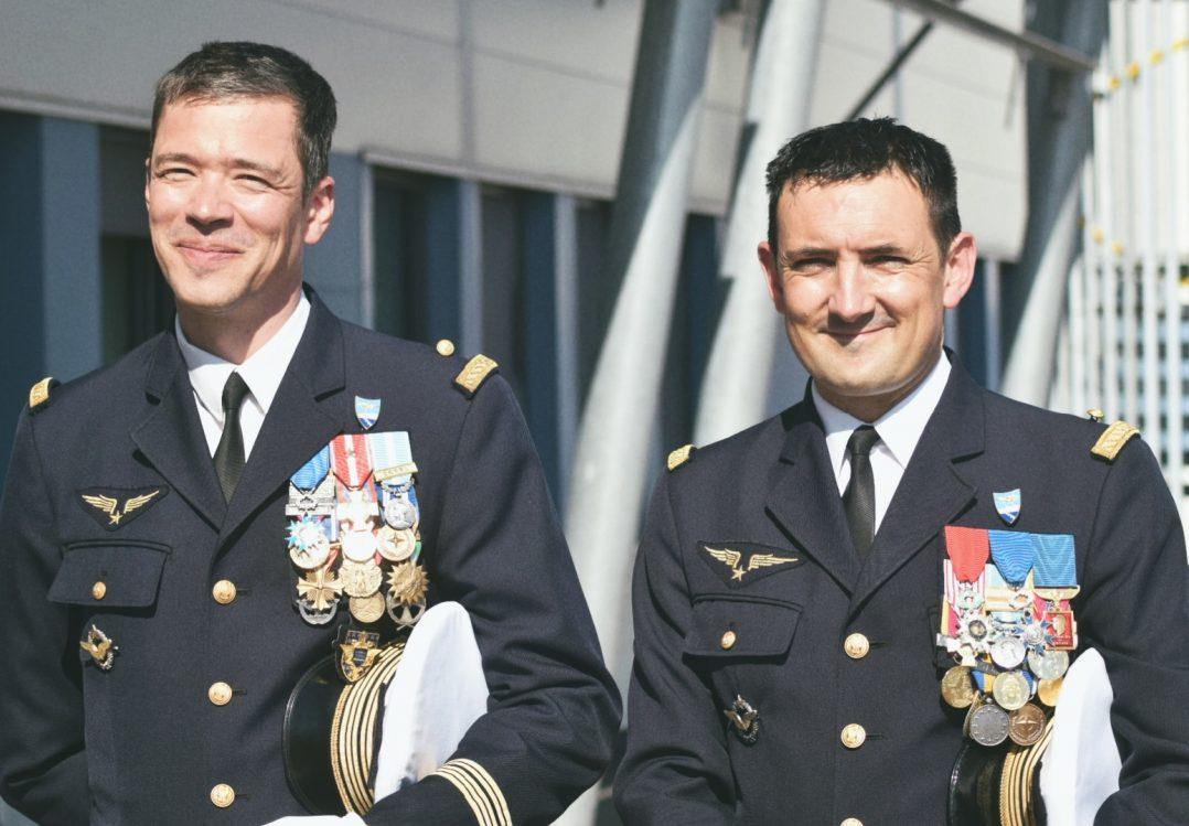 Le Colonel Guillaume Vernet est le nouveau commandant de la base aérienne 123 d'Orléans-Bricy 2