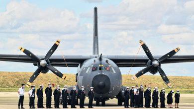 La base aérienne 123 d'Orléans-Bricy accueille l'escadron de transport 4/61 «Béarn». 28