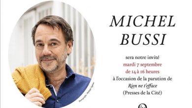 Rencontre avec Michel Bussi à la Librairie Nouvelle 4