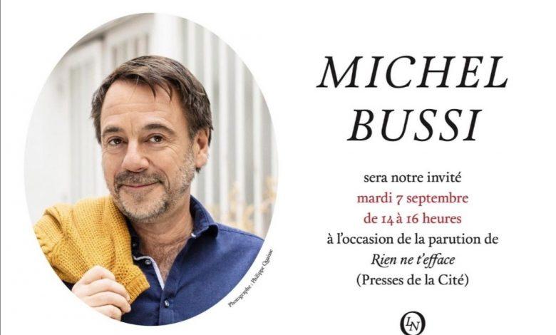 Rencontre avec Michel Bussi à la Librairie Nouvelle 1