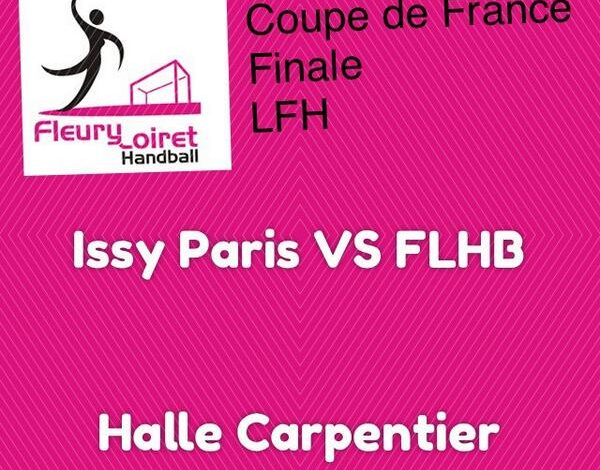 [Handball : Coupe de France, Finale] : Issy Paris Hand VS Fleury Loiret Handball 1