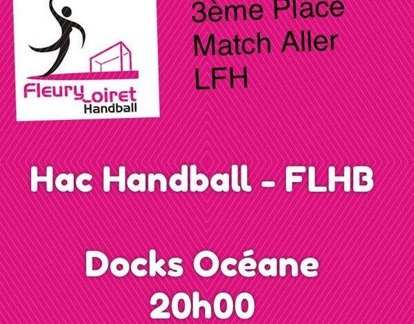 [Handball : PlayOffs] : Le Fleury Loiret Handball dispute la Petite Finale 1