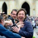 L'animateur Stéphane Bern, qui présidait les fêtes johanniques 2014, a conquis le cœur des orléanais 4