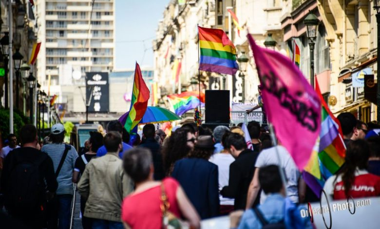 Mes photos du jour : première gay pride à Orléans 1