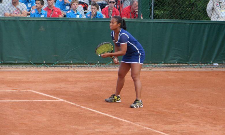 [Roland Garros : Qualifications, 2nd Tour] : Fin de parcours pour la joueuse de l'US Orléans Irina Ramialison 1